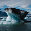Stock Photo: Iceberg floating at Jokulsarlon