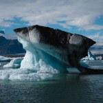 Iceberg floating at Jokulsarlon — Stock Photo #19833949