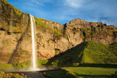 Amazing waterfall in Iceland — Stock Photo