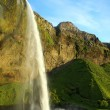 Amazing waterfall in Iceland — Stok fotoğraf
