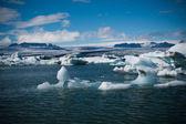Jokulsarlon glacier lagoon in Iceland — Stock Photo