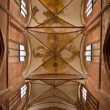 Interior of a church in Wismar — Stock Photo