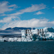 Jokulsarlon glacier lagoon in Iceland — Stock Photo