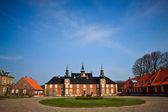 Jaegerspris palác, frederikssund, dánsko — Stock fotografie