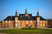 Jaegerspris pałac, frederikssund, dania — Zdjęcie stockowe