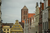 Building in Wismar, Northeastern Germany — Zdjęcie stockowe