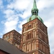 St Nicolai Church in Stralsund, northarn Germany — Stock Photo