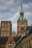 St Nicolai Church in Stralsund, northarn Germany — Stockfoto