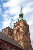 St Nicolai Church in Stralsund, northarn Germany — Foto Stock