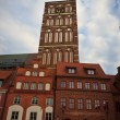 Townhall in Stralsund Germany — Stock Photo