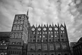 Townhall in Stralsund Germany — Foto Stock