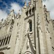 Stock Photo: Tibidabo church on mountain in Barcelona