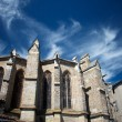 Chatedral in Limoux, France — Stock Photo #34835429