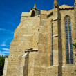 Church in imoux, France — Stock Photo