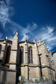 Chatedral in limoux, frankreich — Stockfoto