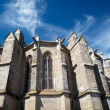 Chatedral in Limoux, France — Stock Photo #34854609