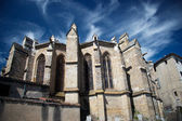 Chatedral in Limoux, France — Foto de Stock