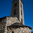 Sant Miquel romanic church, Andorra — Stock Photo