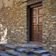 Entrance to a house in Ordino, Andorra — Stock Photo
