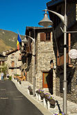 Street in Ordino, Andorra. — Stock Photo