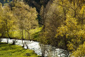 Rivier in andorra — Stockfoto