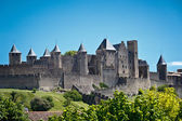 Carcassonne, Languedoc Roussillon, France — Stock Photo
