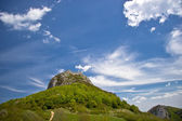 Montsegur castle — Stock Photo