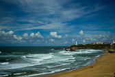 Beautiful sky over Biarritz, France — Stock Photo