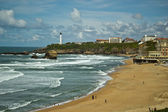 Beautiful sky over Biarritz, France — Foto de Stock