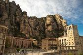 Santa Maria de Montserrat Abbey in Spain — Stock Photo