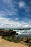 Beautiful sky over Bay of Biscay — Stock Photo