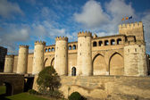 Aljaferia Palace in Zaragoza, Spain — Stockfoto