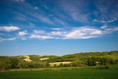 Fields and meadows of south France — Stock Photo