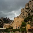 Santa Maria de Montserrat Abbey, Catalonia, Spain. — Stock Photo