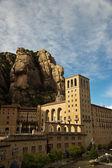 Santa maria de montserrat abbazia, catalogna, spagna. — Foto Stock