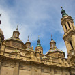 Towers of Basilicat Zaragoza, Spain — Stock Photo #41381527