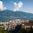 Famous Church of Madonndel Sasso in Locarno — Stock Photo #41520835