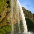Stock Photo: Seljalandsfoss waterfall in Iceland