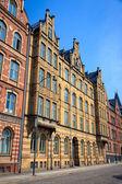 A decorative apartment building in Lund — Stockfoto