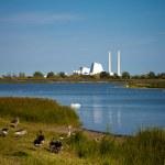Energy plant near Copenhagen — Stock Photo