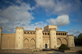 Beautiful Aljaferia Palace in Zaragoza, Spain — Stock Photo