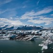 lagune de glacier en Islande — Photo