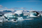 Glacier lagoon in Iceland — Stock Photo