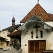 Old church in swiss village — Stock Photo #43260831