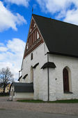 Church in Porvoo, Finland — Stok fotoğraf
