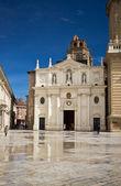 Salvador Cathedral at Zaragoza, Spain — ストック写真