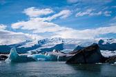 Jokulsarlon Glacial Lagoon near Vatnajokull, Iceland — Stock Photo