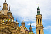 Basilica at Zaragoza, Spain — Stock Photo