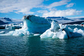 Jokulsarlon Glacial Lagoon in Iceland — Stock Photo