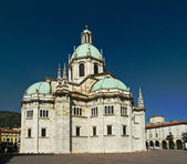 Cathedral in Como, Lombardy, Italy — Foto Stock